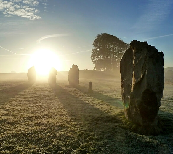Avebury: One of the local attractions.
