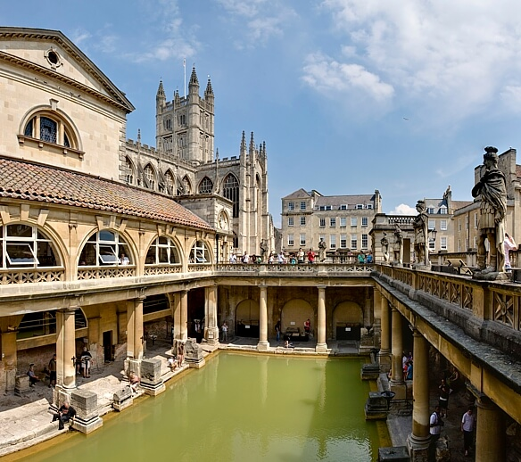 Bath: One of the local attractions.