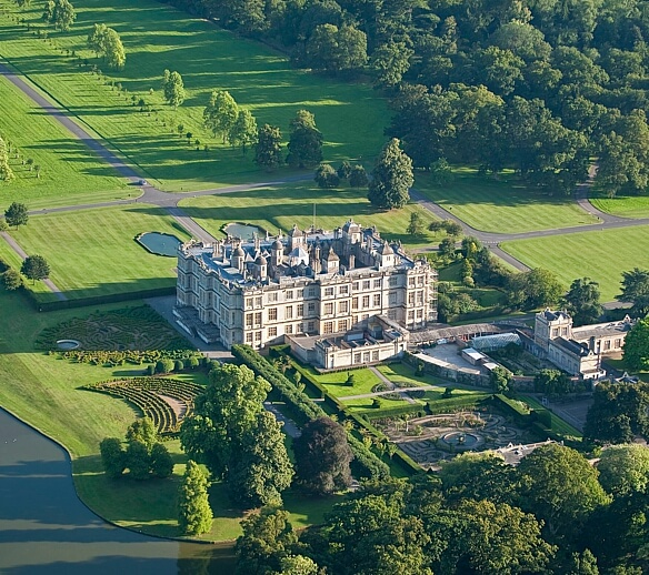 Longleat: One of the local attractions.