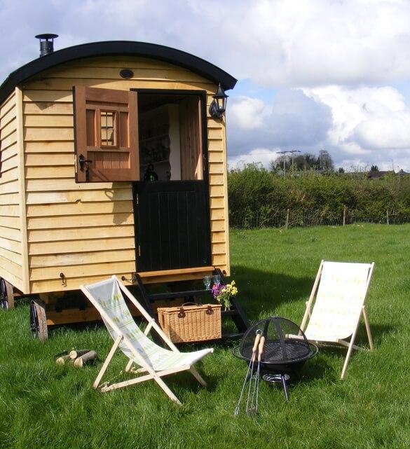 Photo of the Shepherd's Hut