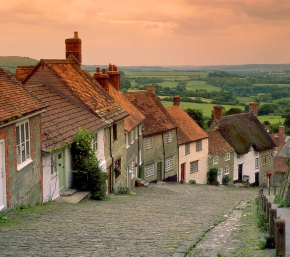Shaftesbury: One of the local attractions.