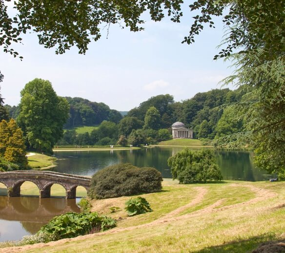 Stourhead: One of the local attractions.